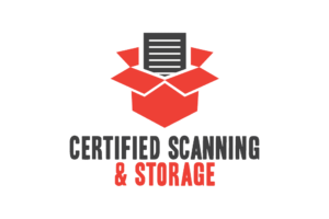 Certified Scanning & Storage Logo