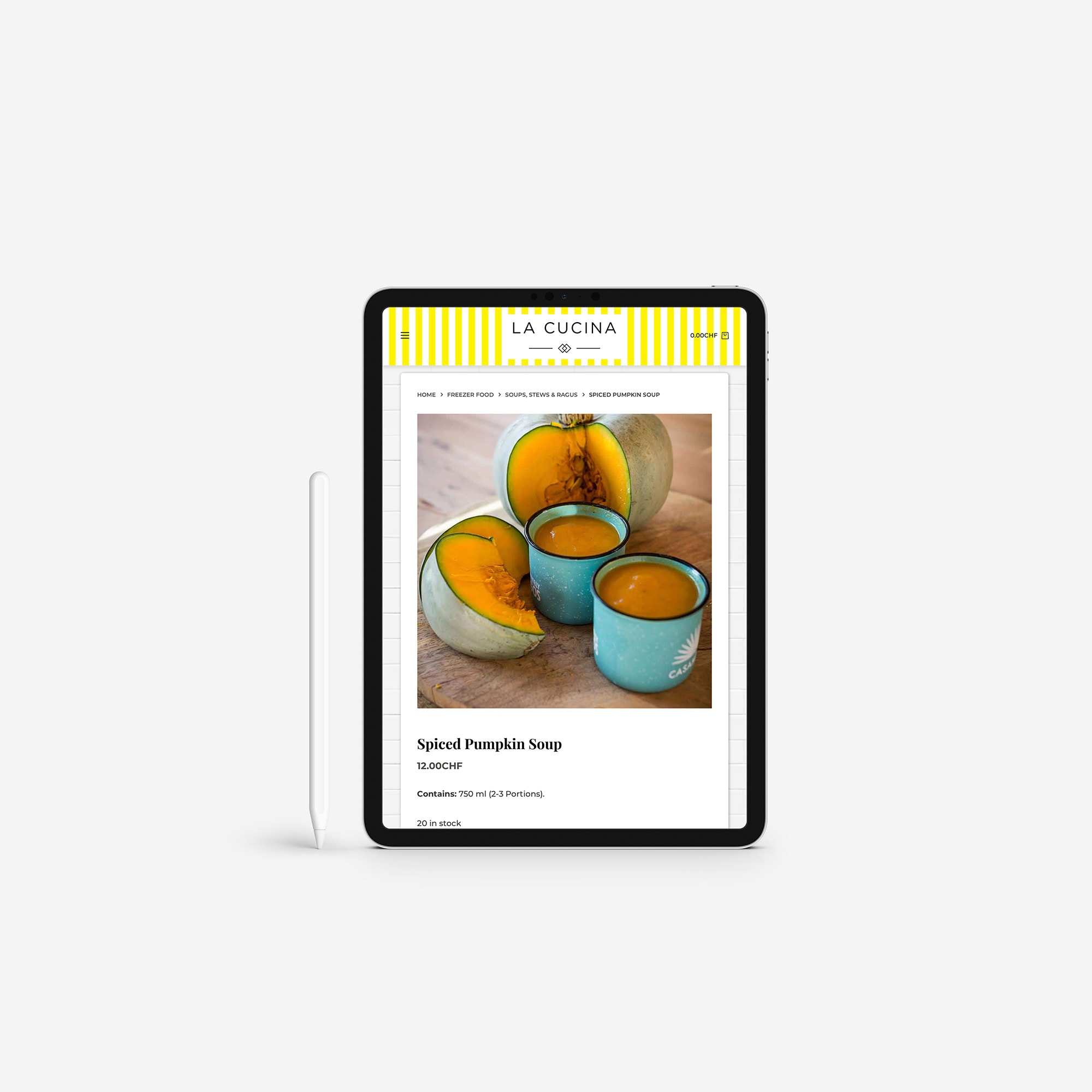 La Cucina - iPad View